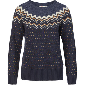 Fjällräven Övik Knit Sweater Damen dark navy